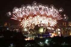 #Sydney's waterfront show packs in over one million people on New Year's Eve—not counting the billions watching on television around the world.
