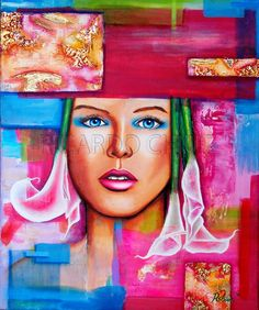 Ricardo Chiuz Honduras Artist Acrylic Art
