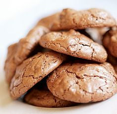 Chocolate Soufflé Cookies - Gluten-Free