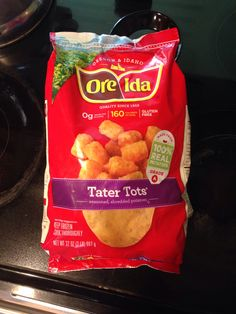 Love @oreida tater tots!!! Sooo delicious! Thanks @influenster #oreldaeasyfries