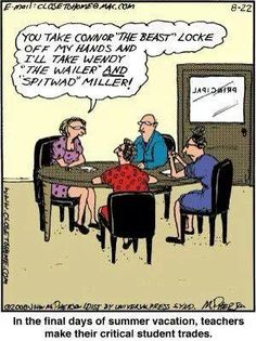 Oh the final days of summer. Teacher humor. Teacher jokes.  http://www.RadiantFitAndHappy.com