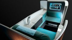 Kosmo - Korean Air's First Class Seat