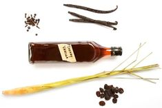 Cherry vanilla bitters: While some recipes for bitters call for gentian and other hard-to-find aromatics, you probably have almost everything you need to make this recipe on your spice. Homemade Bitters Recipe, Homemade Vanilla, Homemade Food, How To Make Bitters, Aromatic Bitters, Cocktail Bitters, Baking Items, Diy Holiday Gifts, Cocktails