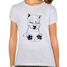 CUTE PUPPY DOG Bella Fitted Babydoll T-Shirt $22.95 #tshirt #forkids #cute #zazzle http://zazzle.com/cute_puppy_dog_bella_fitted_babydoll_t_shirt-235122394434492350?rf=238202880278685137
