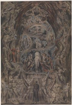 Artwork page for Epitome of James Hervey's 'Meditations among the Tombs', William Blake c.1820-5 James Hervey (1714-58) was a writer of devotional texts. His popular Meditations Among the Tombs was published in 1746 and it was often reprinted. The subject of the book is death, and the author dwells particularly on the grief caused by early death, and on the eventual re-uniting of the parted in heaven. Hervey, his back to the viewer, is seen in the foreground of the picture. At the foot of…