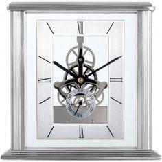 Vancouver Skeleton Mantel Clock 15.4cm - Acctim 36717