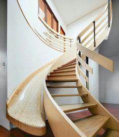 Escada escorrega