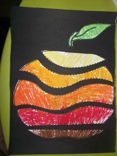 Risultati immagini per activités sur les pommes en maternelle Apple Activities, Autumn Activities, Art Activities, Autumn Crafts, Autumn Art, Art Drawings For Kids, Art For Kids, Kindergarten Art Lessons, Jewish Crafts