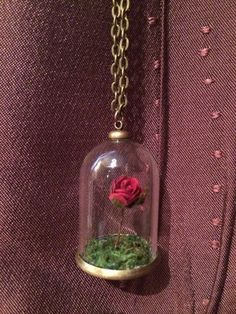 Beauty and the Beast Necklace | 50 Etsy Items That Will Hit You Right In The Childhood