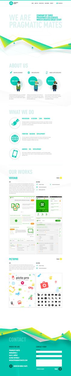 #WEBDESIGN - Love the subtle and green art direction