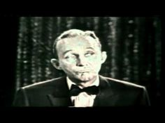"""▶ Bing Crosby - Legends in Concert - Uploader quote: """" Bing Crosby was one of the most successful music and movie stars of the twentieth century. His song 'White Christmas' was one of the biggest-selling single of all time for several years and remains a favourite to this day."""""""