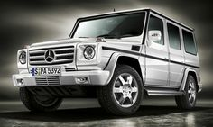 Mercedes-Benz G-Class. Tested to overcome any challenge.