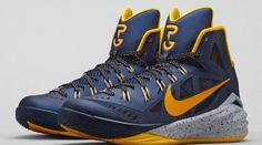 e05ebc2891f5 tenis de basket Nike Hyperdunk 2014 Escuro Azul   Amarelo 719550-470