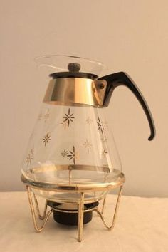 Atomic Mid Century Modern Pyrex Coffee by angie