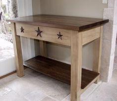 diy primitive home decor | Primitive DIY little table/ stand