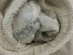 inside of xmas stocking, lining