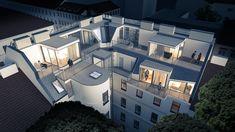 #livingpool #zen-architecture #rendering #architecture #windows Rendering Architecture, Architecture Company, Interior Architecture, Living Pool, Zen, Construction, Exterior, Windows, Urban