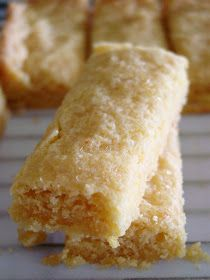 Lemon Cornmeal Shortbread.  Lick The Bowl Good: A Lemon Love Affair