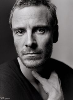 """""""Hello. I'm David.""""  Prometheus star Michael Fassbender in our 2012 Hollywood Portfolio  Photograph by Mark Seliger"""