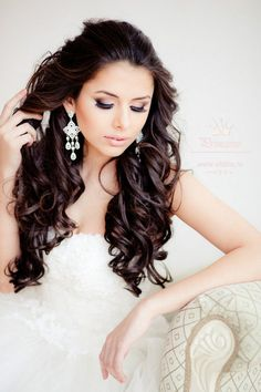 @Elstile wedding wedding #bride #bridallook #bridalmakeup #curls