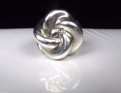Old Mexico Sterling Silver Ring Mexican Knot Floral vintage band Bold Boho #TV117