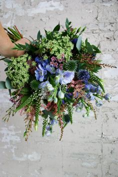 Flowers by AnnaPotter of Swallows And Damsons, UK.