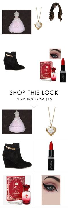 """""""Heaven"""" by bellalestrange49 ❤ liked on Polyvore featuring Poporcelain, Chinese Laundry, Smashbox, Disney and Concrete Minerals"""
