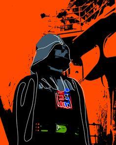 Andy Warhol inspired this pop art piece #darthvader #diseño #design #art #arte Art Pop, Andy Warhol Pop Art, Design Art, Art Pieces, Darth Vader, Inspired, Instagram, Artworks, Pop Art