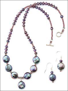 Beading - Jewelry Patterns - Sets Patterns - Small Change Set