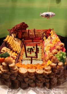 "Snackadium from ""Life Tastes Like Food"" #football #superbowl #party"