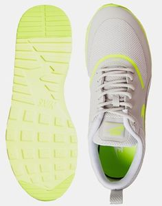 Enlarge Nike Grey Air Max Thea Trainers