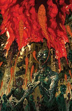 Zombie apocalypse by korintic.deviantart.com on @deviantART