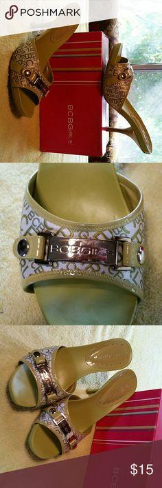Shoes High heel open toe sandal BCBG Shoes Heels