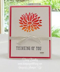 Stampin' Up! Stylish Stems Framelits and Window Shopping stamp Stamping Up Cards, Paper Cards, Window Shopping, Flower Cards, Cardmaking, Stampin Up, Card Ideas, Grunge, Scrapbooking