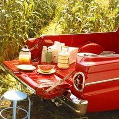 Redneck picnic love