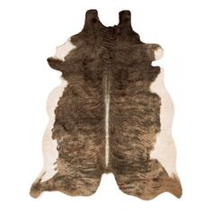 Andes Brown/White Cowhide Rug