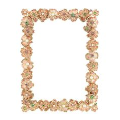 Olivia Riegel Pansy 5x7 in. Picture Frame