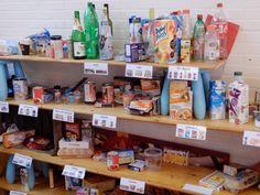 Thema supermarkt met kleuters