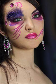crazy Wtf Face, Crazy Makeup, Makeup Looks, Everyday Makeup, Costume Makeup,