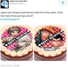 Yay! HajimexNagito! It has been confirmed!!!