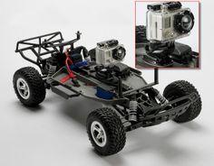 Remote Control Car Base for Go Pro Gopro Camera, Camera Tripod, Gopro Diy, Curiosity Rover, Camera Equipment, Remote Control Cars, Photography Tutorials, Arduino, Rc Cars