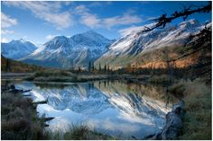 Eagle River Valley Alaska {by Jim Wood}.