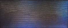 (technique mixte, feuilles d'aluminium, peinture minérale) 59x148 cm Abstract, Artwork, Aluminium Foil, Weaving, Leaves, Paint, Summary, Work Of Art, Auguste Rodin Artwork
