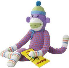 Sock Monkey Doll - Sock Monkey Doll Dotty, XXlarge