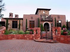Spanish: 26 Popular Architectural Home Styles | Home Exterior Projects - Painting, Curb Appeal, Siding & More | DIY