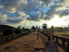 Early morning at Angkor Wat Cambodia. #angkorwat #siemreap #cambodia #travel #temple #delicious #eat #streetfood #foodadventures #tastetravel #tastetravelfoodadventuretours #sunshinecoast #australia #holiday #vacation #instafood #instagood #followme #localsknow #cookingclass #foodie #foodietour #foodietravel #angkorwat #sightseeing #beautiful #stunning