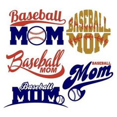 Baseball Mom Pack Cuttable Design Cut File. Vector, Clipart, Digital Scrapbooking Download, Available in JPEG, PDF, EPS, DXF and SVG. Works with Cricut, Design Space, Sure Cuts A Lot, Make the Cut!, Inkscape, CorelDraw, Adobe Illustrator, Silhouette Cameo, Brother ScanNCut and other compatible software.
