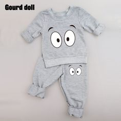 Nice Baby Clothing Sets 2016 Spring Autumn Baby Boys girls Clothes Long Sleeve T-shirt+Pants 2Pcs Suits Children Clothing - $14.97 - Buy it Now! #babyclothescountry