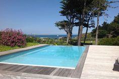 Dinard, maison contemporaine avec vue mer, piscine et accès plage