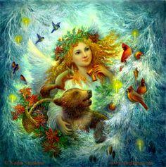 Christmas by Fantasy-fairy-angel on DeviantArt * Angel Fantasy Myth Mythical Mystical Legend Wings Feathers Faith Valkyrie Odin God Norse Death Dark Light Engel d'ange di angelo de Ángel Ангел anděl wróżka de anjo angyal